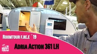 Vorstellung Roomtour Adria Action 361 LH | Happy Camping