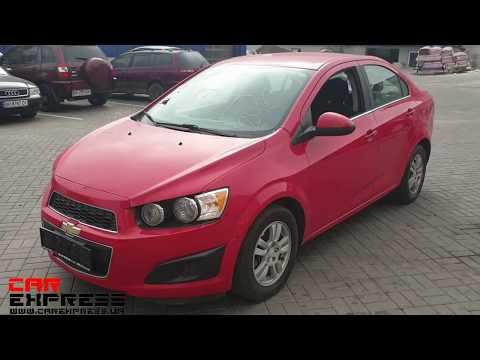 Chevrolet Aveo из США (автомобильные аукционы) когда ремонт до 500$