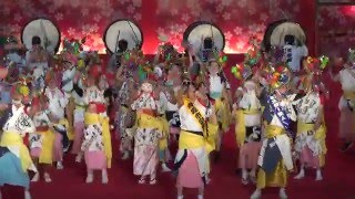 「青森ねぶた祭②」ふるさと祭り東京2016 in 東京ドーム