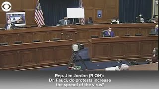 WEB EXTRA: Rep. Jordan and Dr. Fauci In Heated Exchange