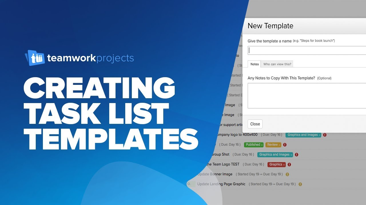 product list templates