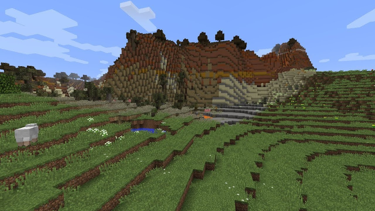 realistic terrain generation server