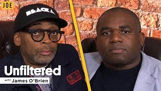 Spike Lee on racism, Trump and Arsenal (with David Lammy) | Unfiltered with James O'Brien #47