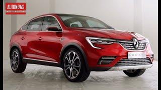 Новый Renault Arkana: полные характеристики