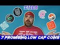 Top 7 Low Market Coins: Hacken, Pinkcoin, Spectiv, Linda, Haven, Zilla, & Fluz Fluz