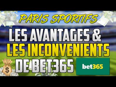 [Paris Sportifs] Quels sont les AVANTAGES et les INCONVENIENTS du bookmaker BET 365 ?