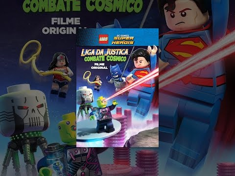 LEGO DC. Liga Da Justiça Combate Cosmico Dublado