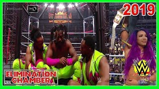 WWE Elimination Chamber 2019 PPV Full Show Review Highlights Call-In Results
