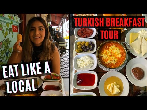 TURKISH BREAKFAST TOUR | EAT LIKE A LOCAL IN ISTANBUL