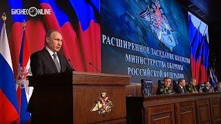 Владимир Путин предостерег от провокаций против российских военных в Сирии
