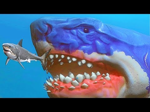 LE PLUS GRAND REQUIN DU MONDE ! | Feed And Grow: Fish !