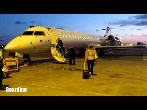 ✈FLIGHT REPORT | ✈ CRJ900 | SAS Scandinavian Airlines | Manc