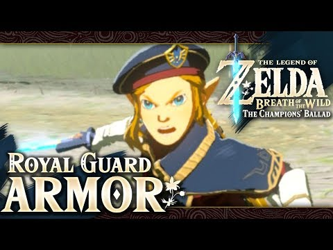 The Legend of Zelda: Breath of the Wild - Royal Guard Uniform