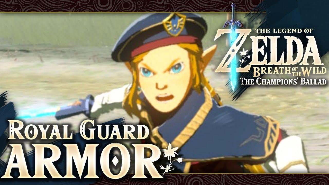 The Legend Of Zelda Breath Of The Wild Part 74 Royal Guard Uniform
