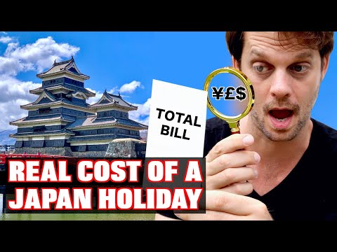 The TRUE Cost Of An ACTUAL Japan Trip: Budget Travel Tips