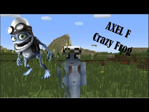 Crazy Frog - Axel F [Minecraft]