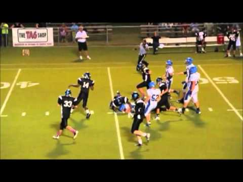 ZACH CARTER APPLING CHRISTIAN ACADEMY 2012 FOOTBALL HIGHLIGHTS