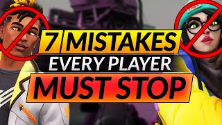 7 Things Everyone D๐es WRONG in Valorant - Mistakes You MUST STOP - Pro Tips and Tricks Guide