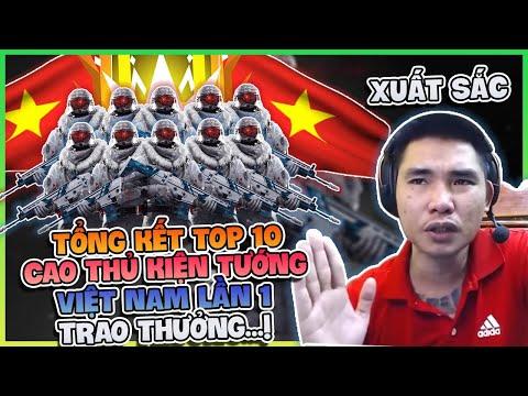 TOP 10 CAO THỦ KIỆN TƯỚNG RANK SEVER VIỆT NAM LẦN 1 , TRAO GIẢI TRỰC TIẾP !