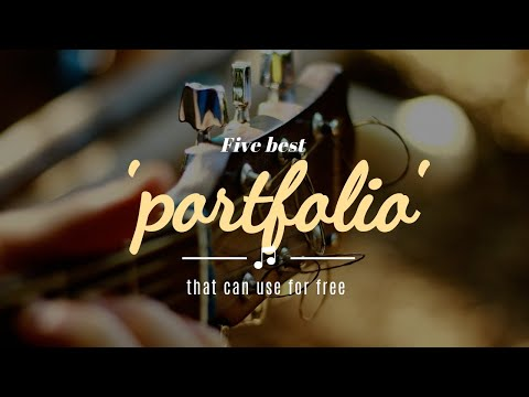 5 Best Portfolio Sites That You Can Use For Free
