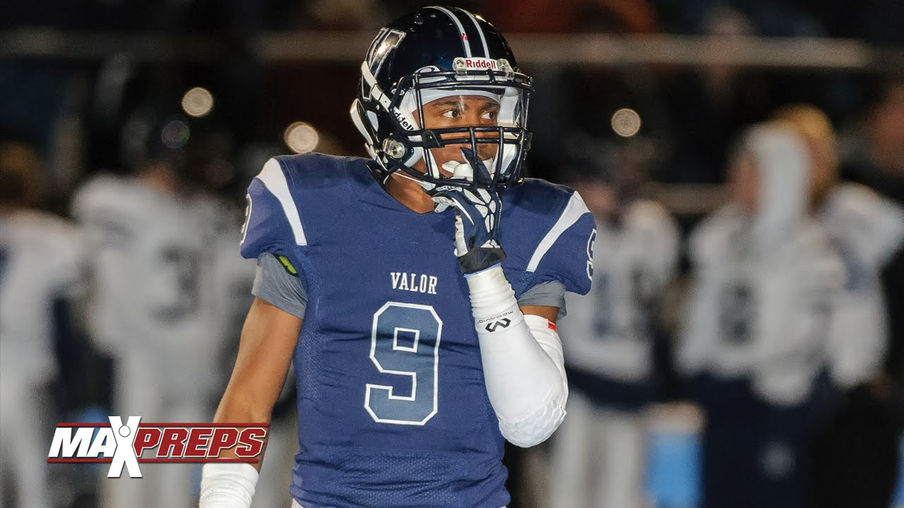 innovative design e7e8f edaf3 Brian Dawkins Jr - Valor Christian (CO) Highlights
