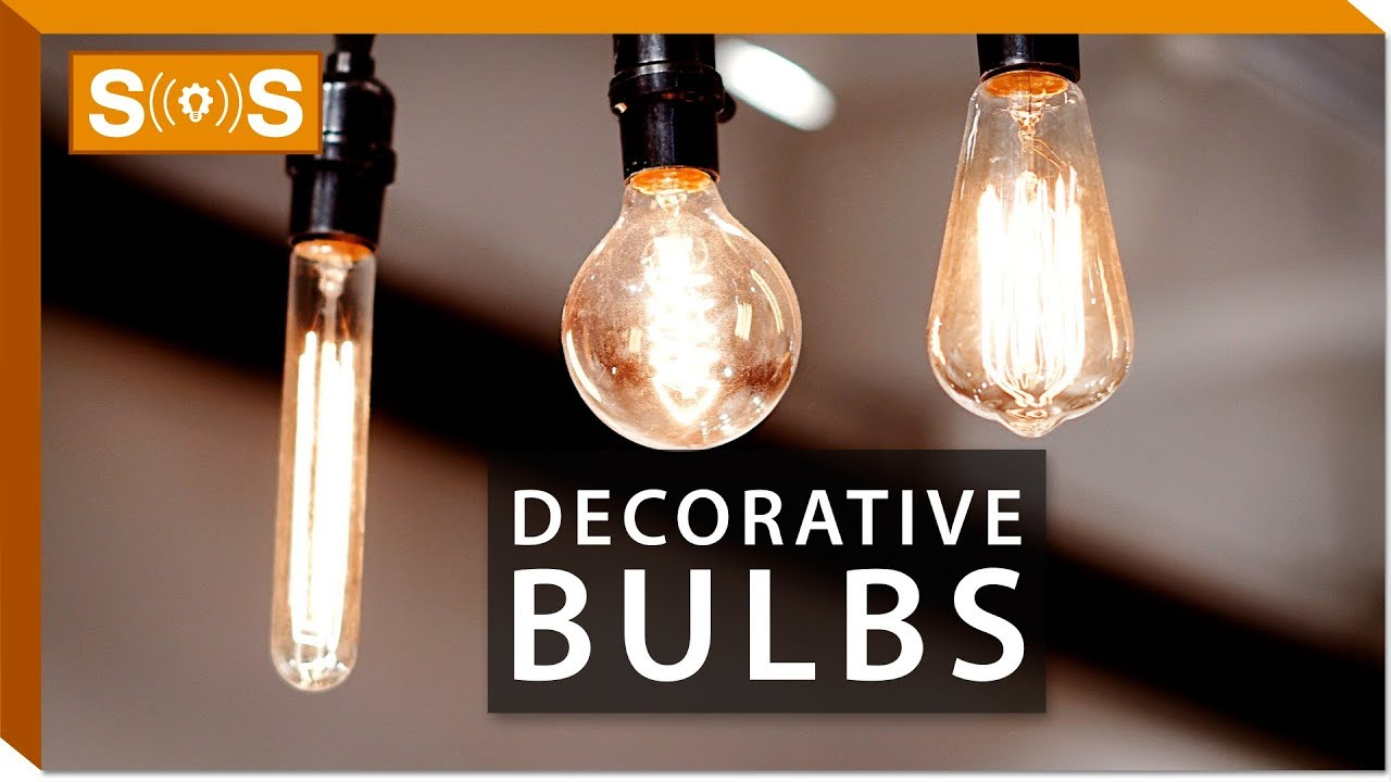 Lighting - Decorative Light Bulbs | Spec. Sense