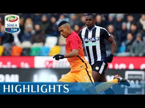 Udinese - Roma - 0-1 - Highlights - Giornata 20 - Serie A TIM 2016/17