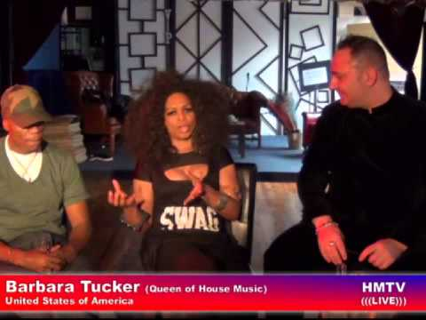 Barbara Tucker & DJQ on NYT Radio Show LIVE from United States of America