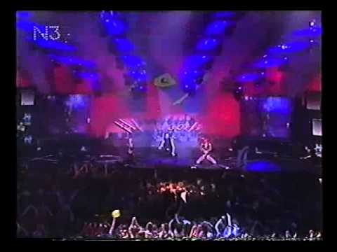 "1997 N-Joy - Brooklyn Bounce ""Get ready to bounce"" live"