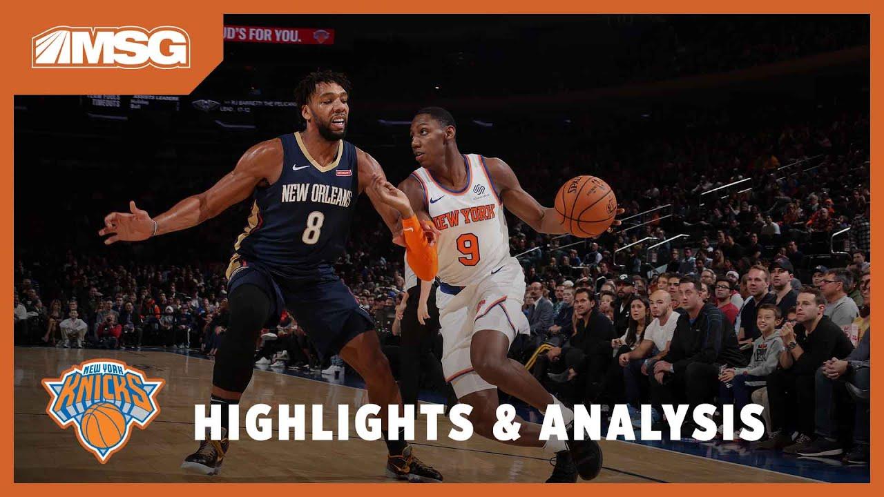Takeaways from New York Knicks loss: RJ Barrett impresses, Elfrid ...