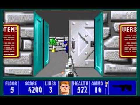 Wolfenstein 3D - Speed Run in 0:27:14 (