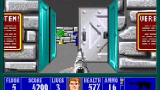 "Wolfenstein 3D - Speed Run in 0:27:14 (""I Am Death Incarnate"" Difficulty) 2013 SDA [PC]"