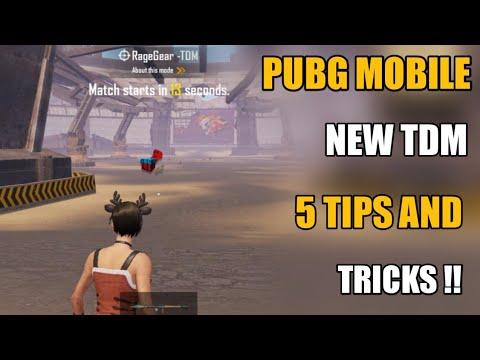 Pubg Mobile New Tdm 5 New Secret Tips And Tricks !! Tdm Tips And Tricks Pubg Mobile