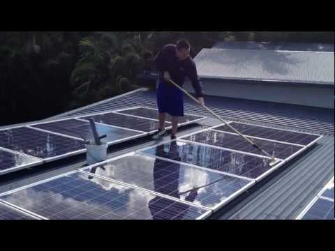 Gold Coast Solar Panel Cleaning