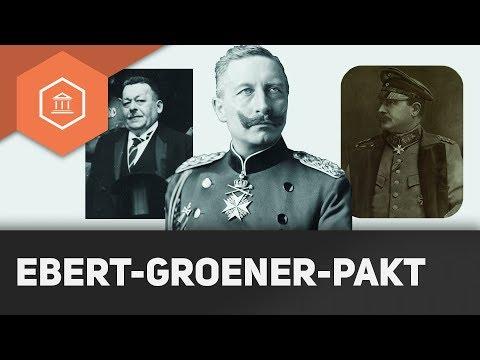 Beginn der Weimarer Republik: Übergangsregierung & Ebert-Groener-Pakt