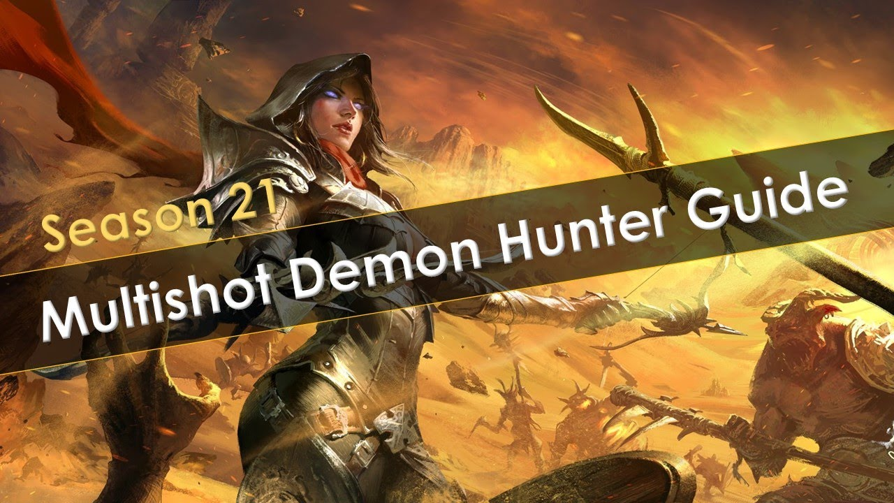 Diablo 3 demon hunter equipment guide