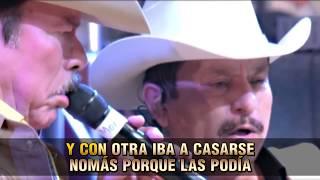 Los Invasores de Nuevo Leon - Laurita Garza  ( Karaoke Oficial )