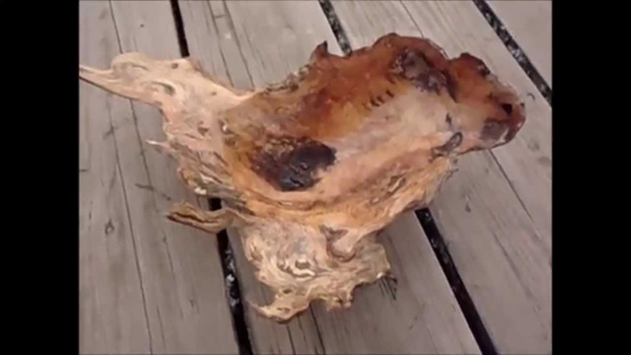 Woodworking Carving A Bowl From A Wood Burl Jason