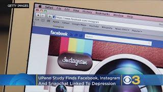 UPenn Study Finds Facebook, Instagram, Snapchat Linked To Depression