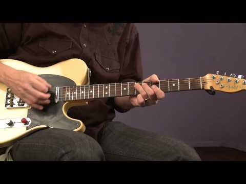 Blues Guitar Lessons with Keith Wyatt: Snap, Slap & Rake