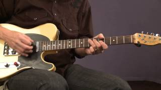 Blues Guitar Lessons with Keith Wyatt: Snap, Slap & Rake