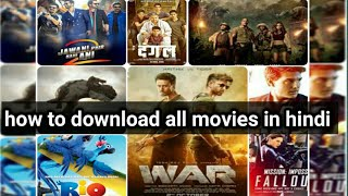 How To Download Hd Movies In Hindi Easily / All Hollywood, Bollywood Movies Download in Hindi.