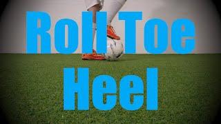 roll toe heel static ball control drills soccer football coerver training for u6 u7