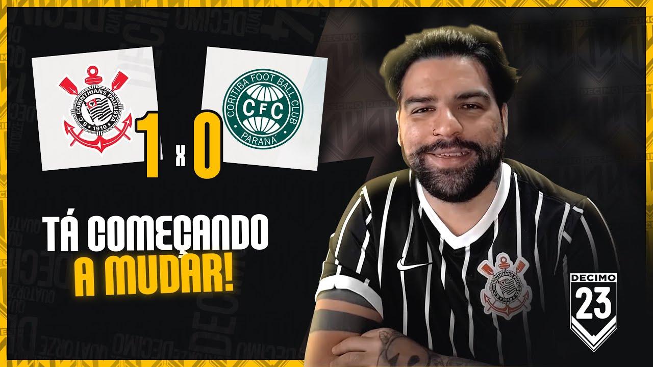 VITORIA GOSTOSINHA NO AZEITE, MAS O LUCAS PITONTO, HEIN???? - CORINTHIANS 1X0 CORITIBA
