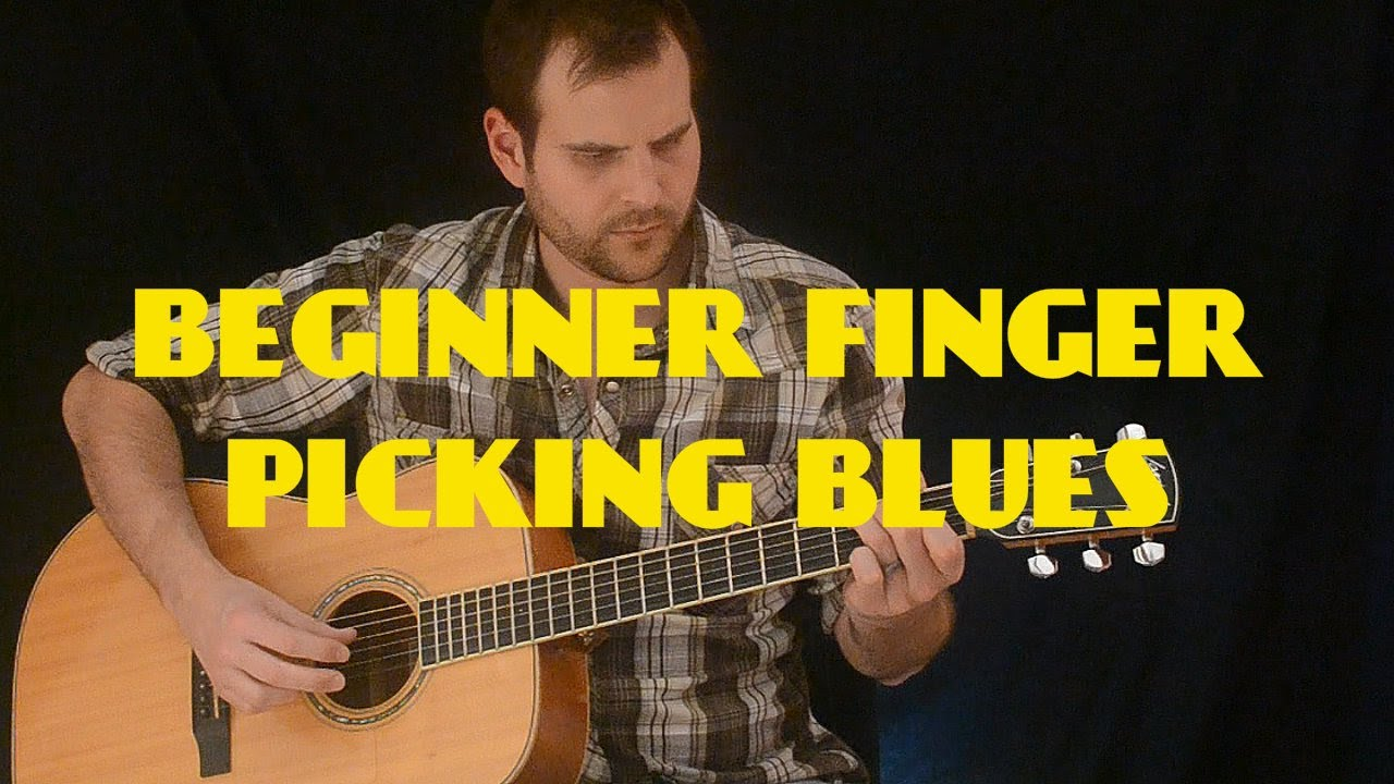 easy finger picking blues for beginners piedmont style youtube. Black Bedroom Furniture Sets. Home Design Ideas