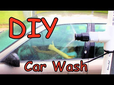 PVC Pipe Project : Car Wash