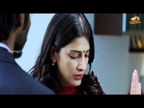Shruti Hassan slapping Dhanush - 3 movie scenes