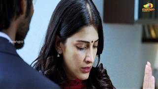 Shruti Hassan slapping Dhanush - 3 movie scenes