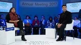 Davos 2017 - A Conversation with Karan Johar and Sharmeen Obaid Chinoy thumbnail