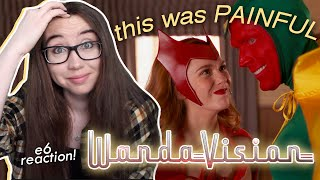 trick or treat your MENTAL HEALTH PLS wanda, pls 😭 | wandavision episode 6 reaction & commentary!